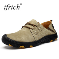 Mountain Shoes For Men Breathable Mens Walking Shoes Outdoor Spring Summer Mens Trekking Shoe Lightweight Slip