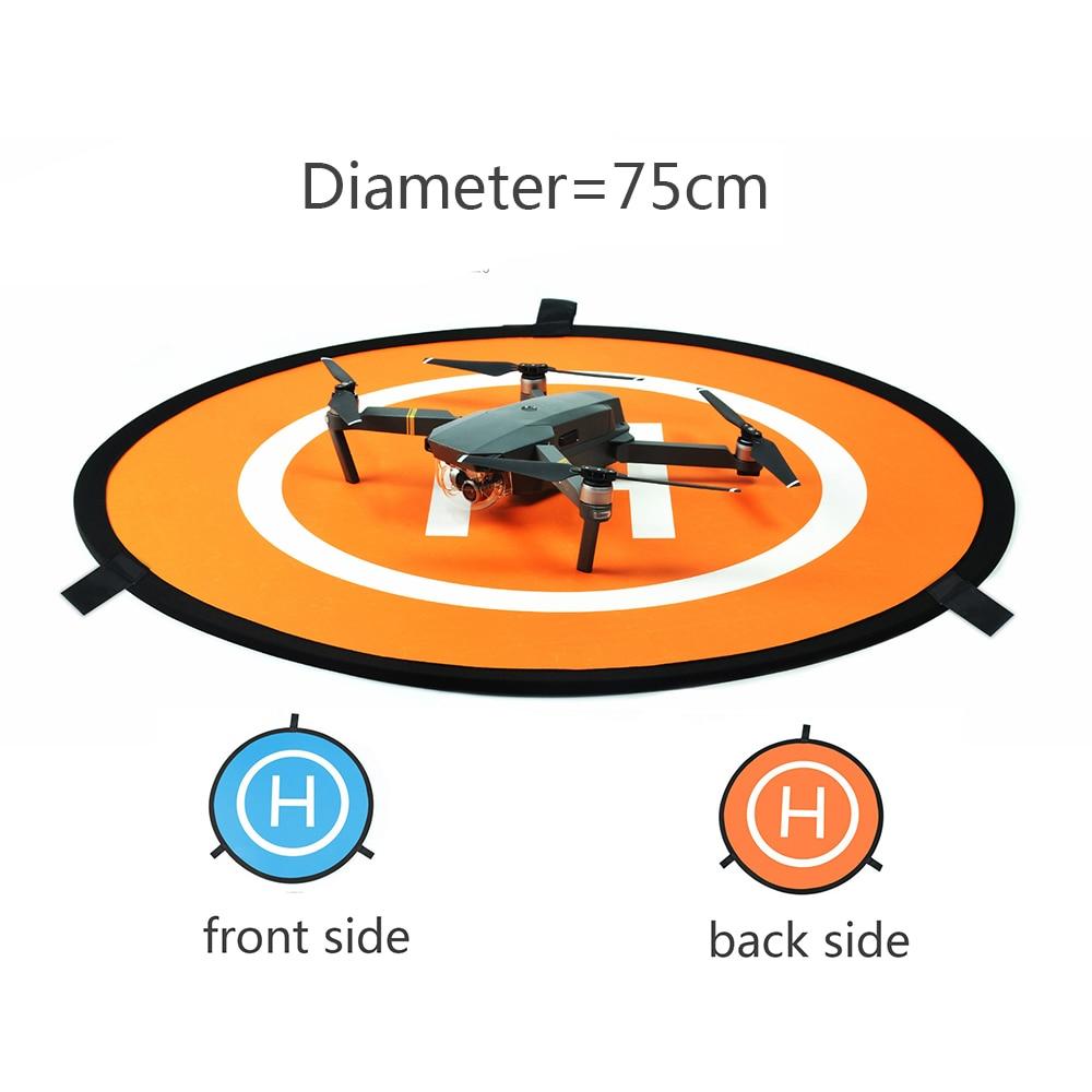 Diameter 75cm DJI Spark/Mavic Pro/Mavic Air Landing Pad Phantom 4 Pro V2.0 Parking Apron for DJI Inspire 2 Fast Fold Landing Pad