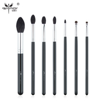 Anmor High Quality 7 PCS Makeup Brush Set Professional Makeup Brushes Goat Hair Brochas Maquillaje BK-142