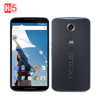 Desbloqueado Motorola Google Nexus 6 XT1100 XT1103 Quad Core 3 GB de RAM 32 GB ROM 4G LTE Remodelado Telefone Celular 5.96 polegada 13MP 3220 mAh