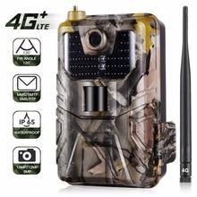 HC 900LTE 4G MMS/SMS/SMTP/FTP trail Chasse caméra 16MP 64 GB nuit caméra 44 pièces 940nm led sauvage caméra photo pièges pour animaux