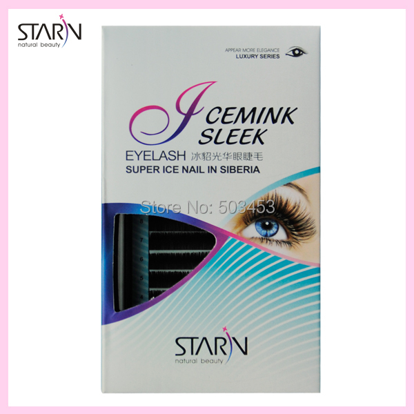 new 100% Siberia Real Mink eyelash extension high-end C Curl Fake Eyelash natural false eyelashes Long Eyelash Extension Makeup
