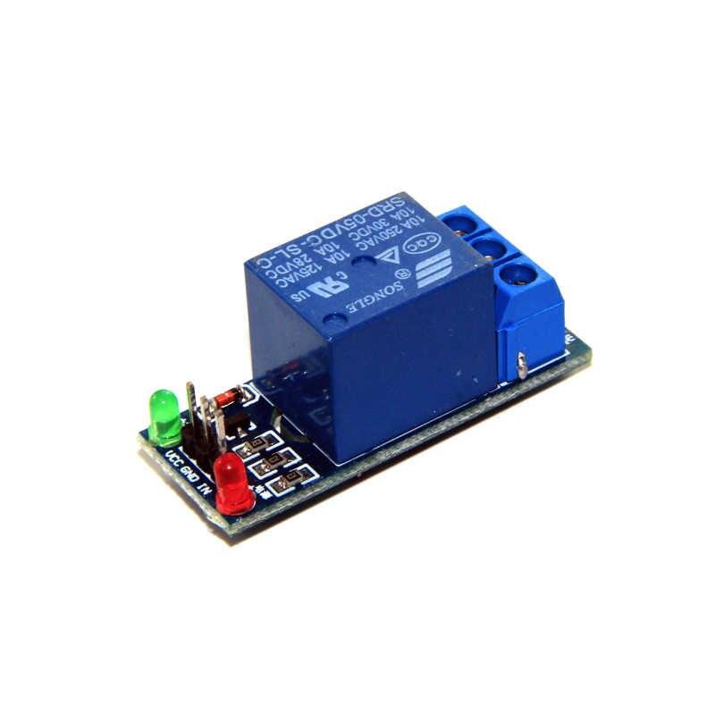 Placa de interfaz de módulo de relé de 1 canal para Arduino 5 V disparador de bajo nivel una foto AVR DSP brazo MCU DC AC 220 V
