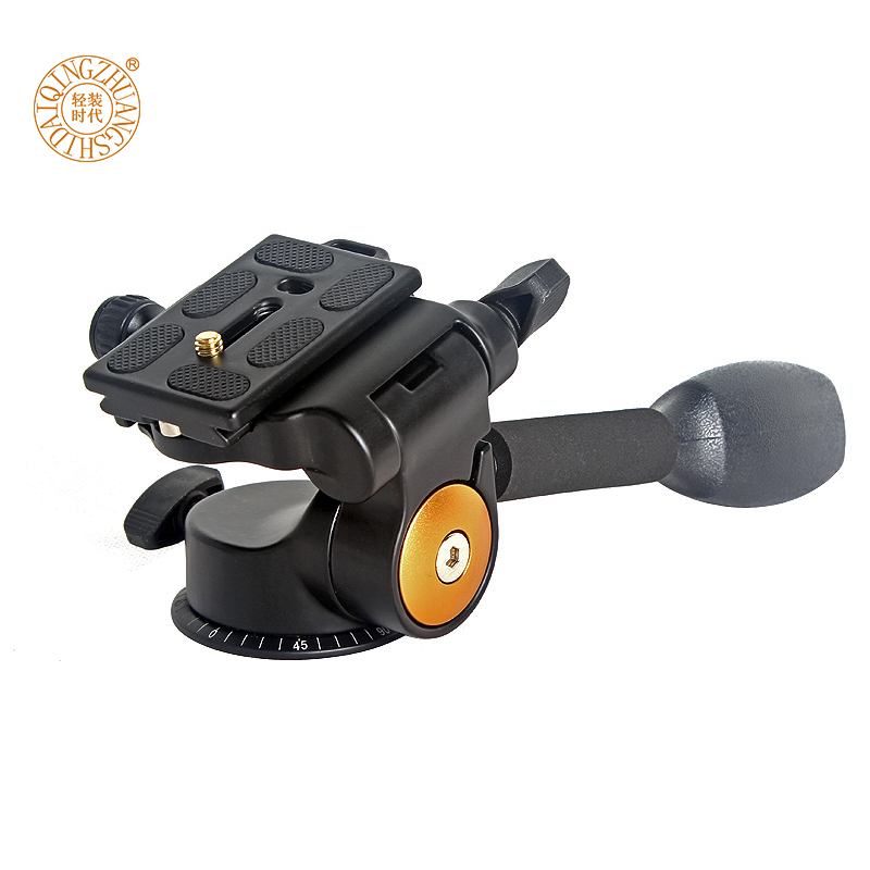 F16927 Q08 алюминиевый DSLR камеры ручка штатив мяч головой коромысло Q-08 3-полосные 3D демпфирования монопод штатив быстрого PTZ
