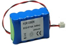 2000mAH New Electrocardiogram machine battery for OSEN ECG-8110 ECG-8110A,ECG-8130A
