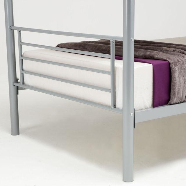 Twin Bunkbed  Frame w/ Ladder  5