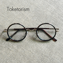 Monturas de gafas redondas de la vendimia clásica nuevos marcos Ópticos gafas para hombres mujeres 4018