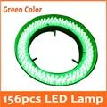 Grüne Farbe Licht 156 stücke Adjuatable Medizinische Stereo Mikroskop Beleuchtet FÜHRTE Ring Birne Lampe 110 V 220 V Innendurchmesser 81mm-in Mikroskope aus Werkzeug bei