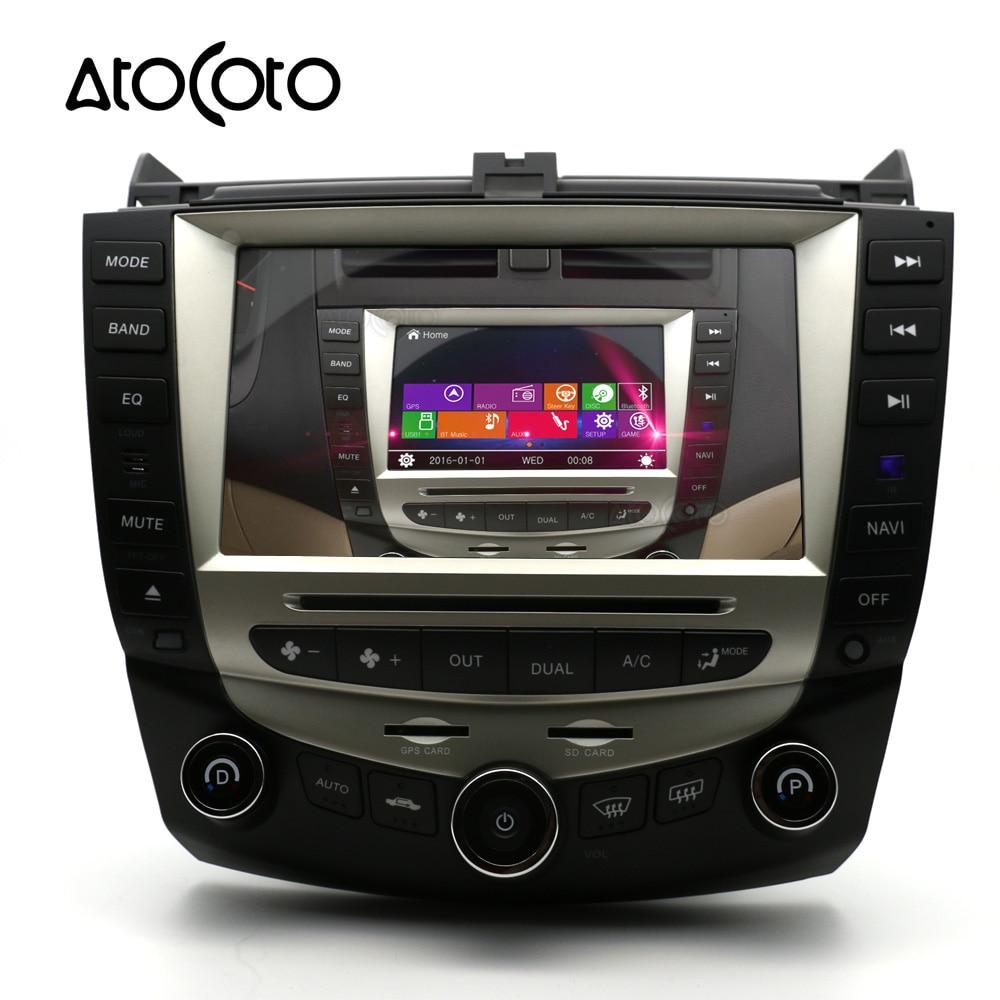 8 inch car dvd player gps navigation for honda accord 2003 2004