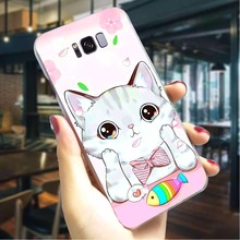 Cute Cat Meow Hard Cover for Samsung Galaxy A5 2018 Print Phone Case for Samsung Galaxy A30 A40 A50 A70 A3 Cases Back cute panda hard cover for samsung galaxy a3 2016 print phone case for samsung galaxy a30 a40 a50 a70 a3 back shell