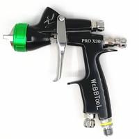 NISSEN PRO X30 professionelle spritzpistole spritzpistole automotive guns auto malerei werkzeuge pistole farbe auf wasserbasis luft spritzpistole sprayer