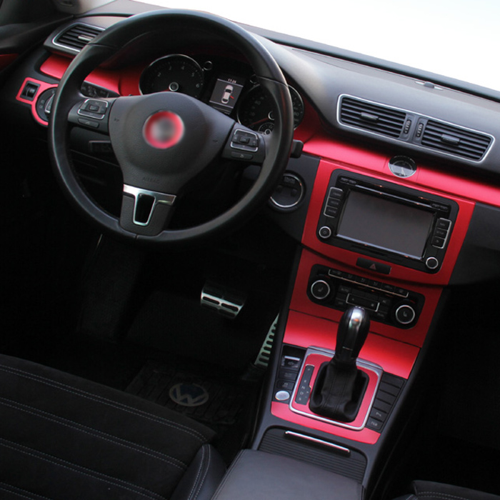Car Styling Teeze Car Interior Center Console Color Change