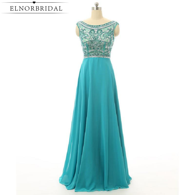 Modest Beading   Prom     Dresses   Long 2019 Turquoise Party   Dress   For Girls Cap Sleeve Vestido De Festa Pageant Party Gowns
