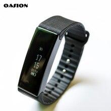 Oasion умный Браслет водонепроницаемый беспроводной Bluetooth Smart Браслет фитнес-трекер GPS фитнес часы для Android IOS SmartBand