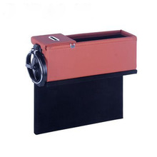 E-FOUR коробка для хранения автомобиля сиденье щелевая Кожа чашки держатель телефоны стенд монеты Хранитель Poket автомобиль средства ухода за
