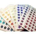 12 Листов/пакет детские Творческие DIY Bronzing Тиснения Алмазные Губы Наклейки Sticky Notes Записки Украшения Дети Классические Игрушки