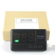 Findarling C60 Universal Car GPS HUD Speedometer Head UP Display Windshield Digital Car Speed Projector Overspeed Alarm