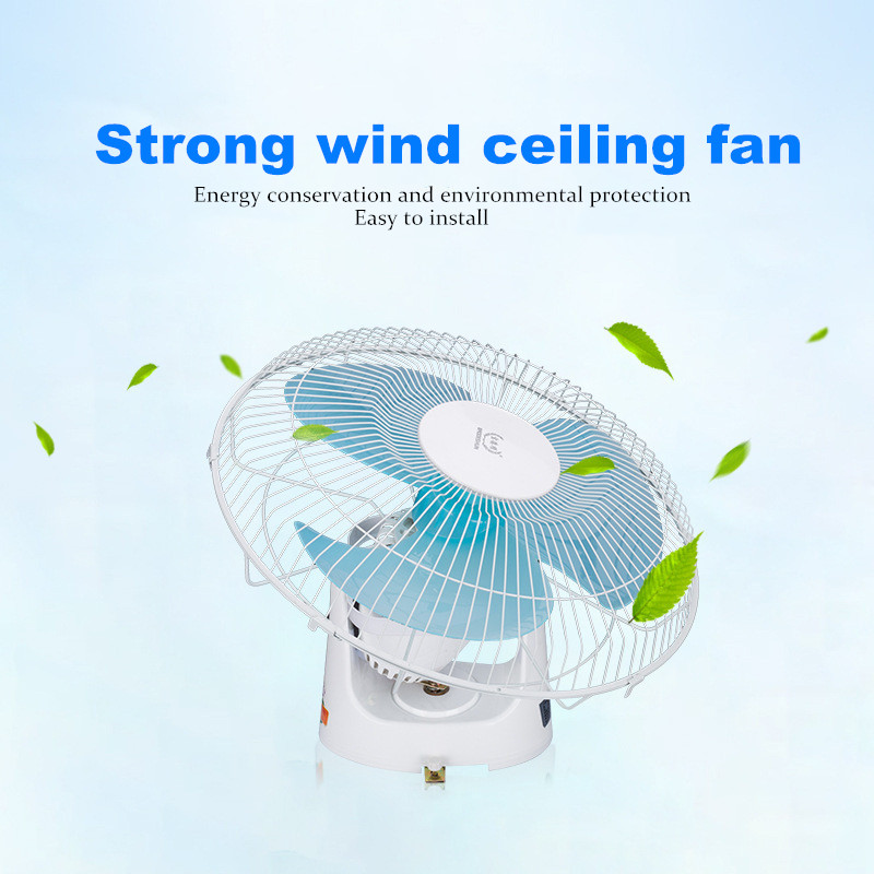 Ceiling-Fan Electric Speed-Regulation Summer Fan 16inch Household Factory Strong 3
