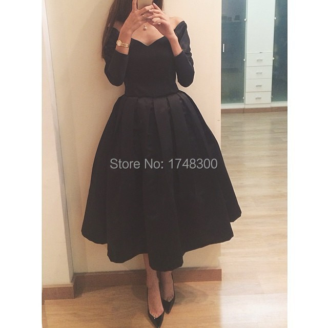 Compare Prices on Black Dress Mid Calf Length- Online Shopping/Buy ...