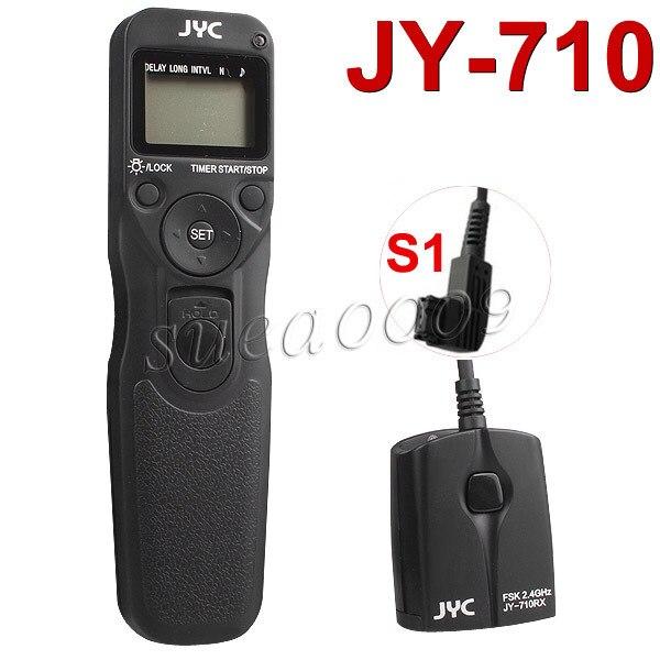 Viltrox JY710/S1 2.4GHZ FSK Wireless Remote Shutter Controller Set Time Lapse Intervalometer Timer A900 A850 A550 A500 A450 A600