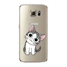Cute Cat Patterns Covers For Samsung Galaxy S5/S6/S6E/S6EP/S7/S7E