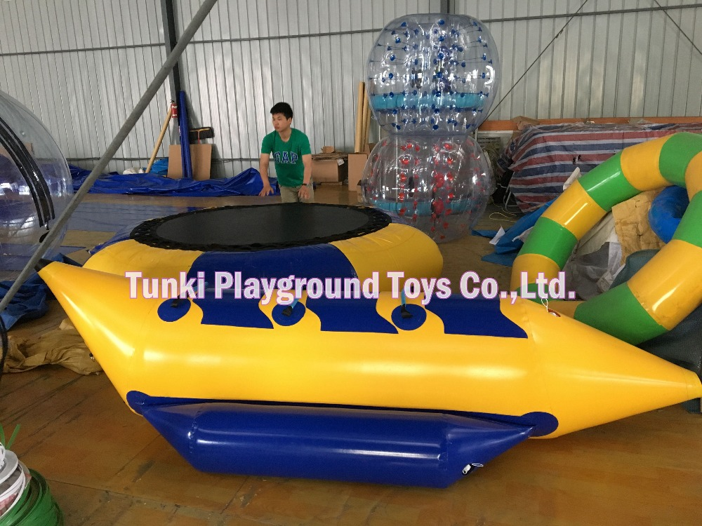 3 seats inflatable banana boat for water sports