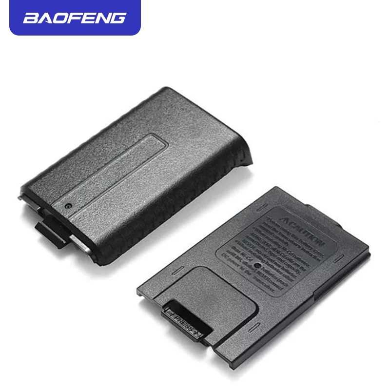 Portable Black Extended 6x AAA Battery Case Pack Shell For BaoFeng UV5R UV5RB UV5RE Walkie Talkie