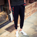 5XL-M Большой Размер Мужчины Бегунов Весна Повседневная Мода Цветочные Лоскутные Мужчины Брюки 2016 Горячей Продажи Свободные Гарем Брюки Продвижение