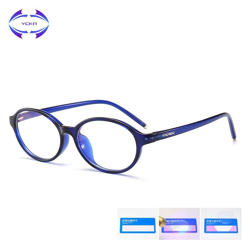 d6f474cca Crianças Óculos de Armação Ultraleve TR90 VCKA Espetáculo De Óculos  Crianças óculos de proteção Anti-azul luz óculos de Proteção Do Computador  Flexível ...