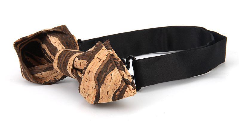 New Handmade Wooden Cork Bamboo Bow Tie Bowtie Men's Cravat 94