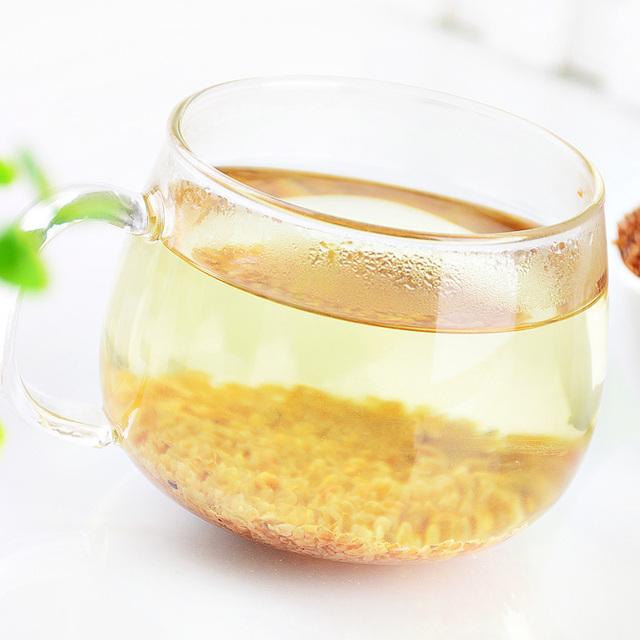 1bag 300g black buckwheat tea grain tea healthful tea  buckwheat tea reducing blood glucose kitchen toy
