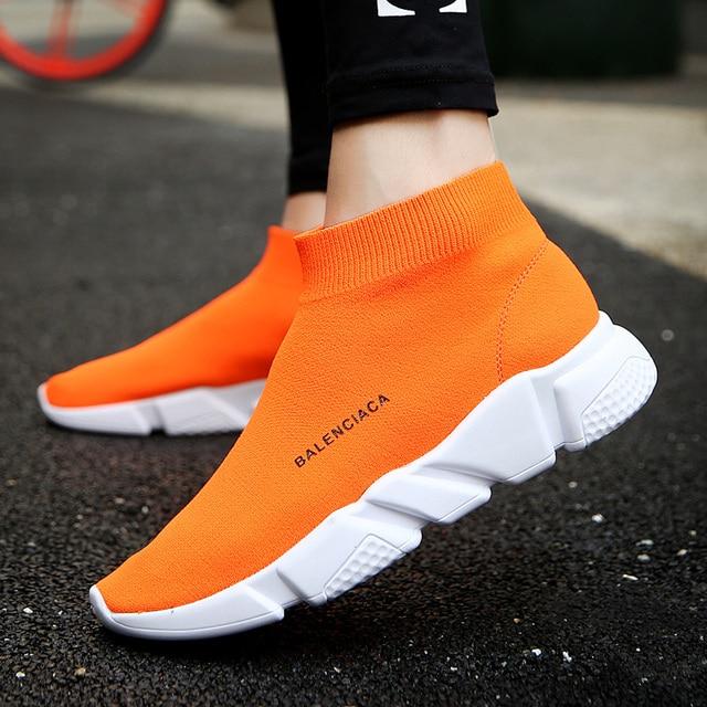 Men Sneakers Light Balanciaga Sock Footwear Outdoor Running Shoes for Men  Summer Zapatillas Hombre Breathable Women 6478f9fec0c