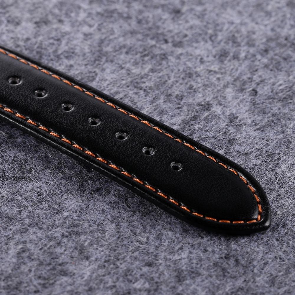 quartz wristwatches leather strap sports watches casual mens wrist watch black case 1 (1)