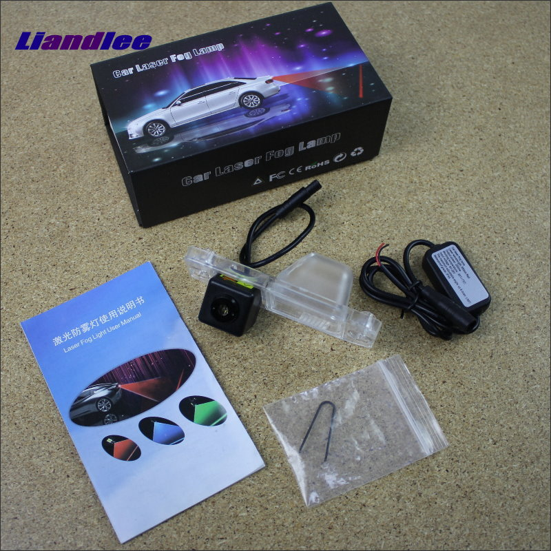 Liandlee Car Tracing Cauda Laser Light For KIA Sorento R / Sorento MX 2010~2015 Special Anti Fog Lamps Rear Lights speed test counting module for smart tracing car yellow