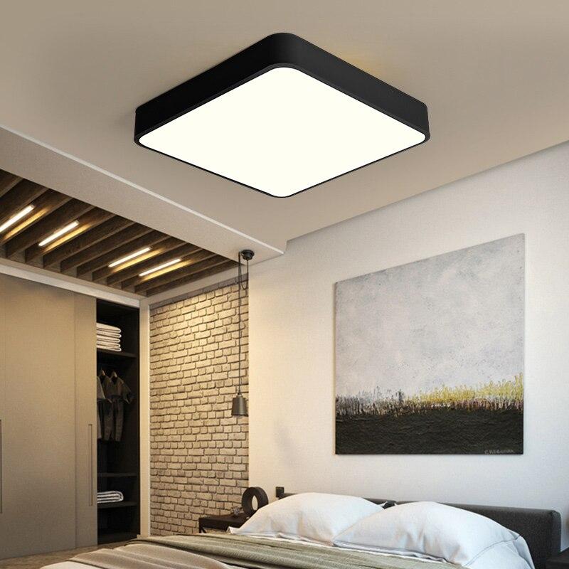 Led Super Bright Ceiling Light Kitchen Light Hallway: Ultrathin Bathroom Waterproof 110V Led Rectangle Square