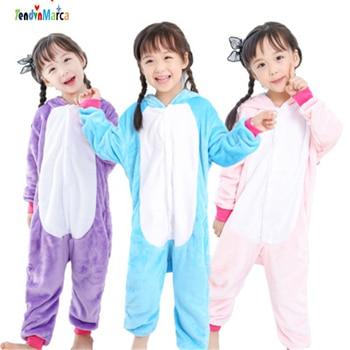Children Warm Clothing kigurumi Set Pijama Kids Unicorn Onesie pyjama jongen kinderen girl pajamas children;pijama licorne Пижама