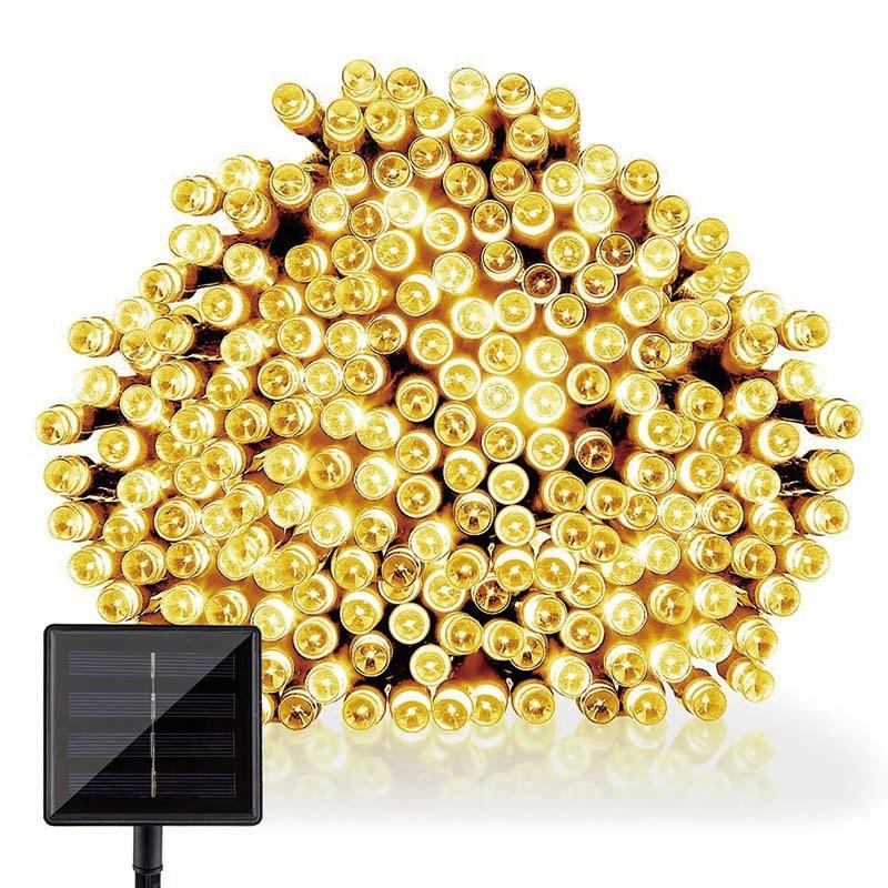 22M 200 жарықдиодты күн сәулесі - Мерекелік жарықтандыру - фото 3