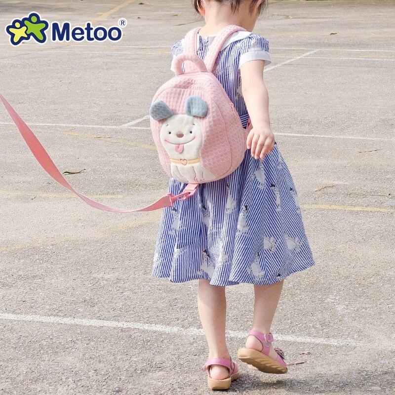 Metoo-Kids-Baby-Bags-Animals-Cartoon-Kids-Doll-Toy-Children-Shoulder-Bag-for-Kindergarten-Angela-Rabbit-Girl-Plush-Backpacks-5