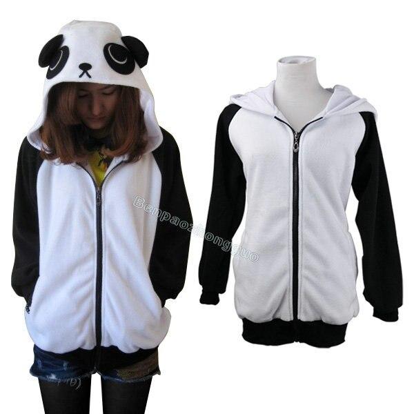 Nueva moda japón Anime frío Panda mujeres Casual con