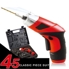 Tools - Hand Tools - 45 In 1 Charged Screwdriver 4.8V Rotatable Screwdriver LED Lighting Mini Electric Screwdriver