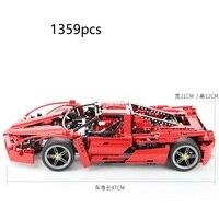 1359Pcs City F1 Racing Car Model Compatible LegoINGs Building Blocks Sets Bricks legoed tech Toys For Children