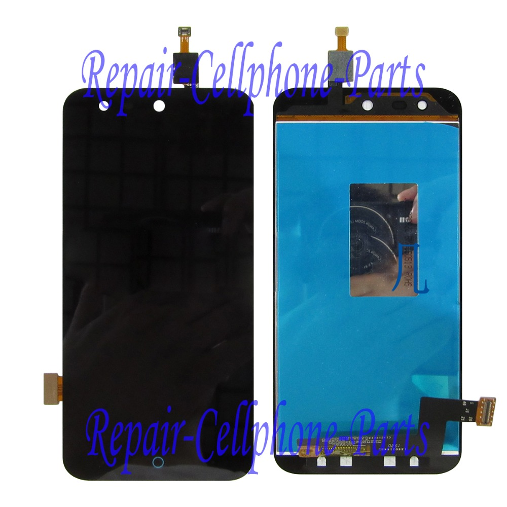 Black 100% New Full LCD DIsplay + Touch Screen Digitizer Assembly Replacement For <font><b>ZTE</b></font> Blade X5 / Blade D3 <font><b>T630</b></font> Free shipping image