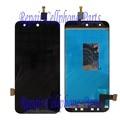 Negro 100% Nueva Pantalla LCD Full + Pantalla Táctil Digitalizador Asamblea reemplazo para zte blade x5/t630 hoja d3 envío gratis