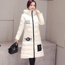 2016 плюс размер новый Muje schlank вниз пальто abrigo deinvierno твердые talvitakki манто де манга ларга пуховое пальто теплое пальто