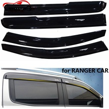 CITYCARAUTO RANGER BLACK AWNINGS SHELTERS WINDOWS SUN VISOR FIT FOR T6 T7 XTL 2012