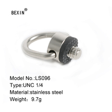 лучшая цена D ring 1/4 inch Hanging Connect Adapter fix Screw camera screw For tripod DSLR Camera Shoulder Quick release plate Sling Strap