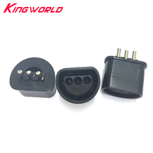 Фотография 100pcs Replacement 180 degree connector part for Nintendo64 for N64 socket