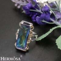 חלומית המפלגה אופנה מתנה לחג המולד Jewerly 925 גודל טבעת כסף לנשים 8 NY704 מבריקה חג המולד