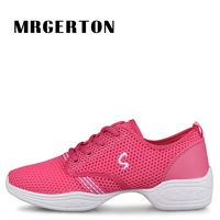 2017 Light Dance Shoes Lady Soft Wedge Dance Sneakers Women Zapatos De Baile Latino Mujer M52514