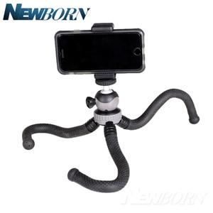 Image 4 - Cima pro RM 30 Seyahat Açık Mini Braketi Standı Ahtapot Tripod esnek işkembe telefon Için dijital kamera GoPro